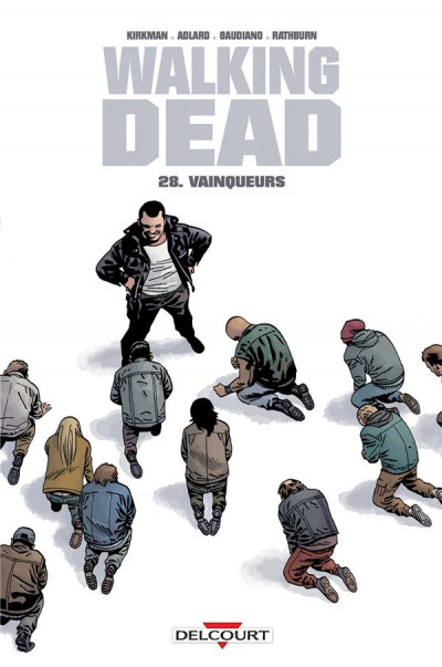Couverture Walking dead tome 28