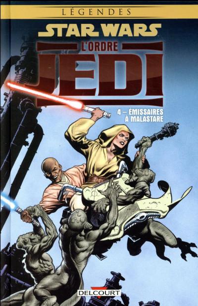 Couverture Star wars - l'ordre jedi tome 4