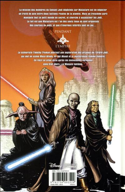 Dos Star wars - l'ordre jedi tome 4