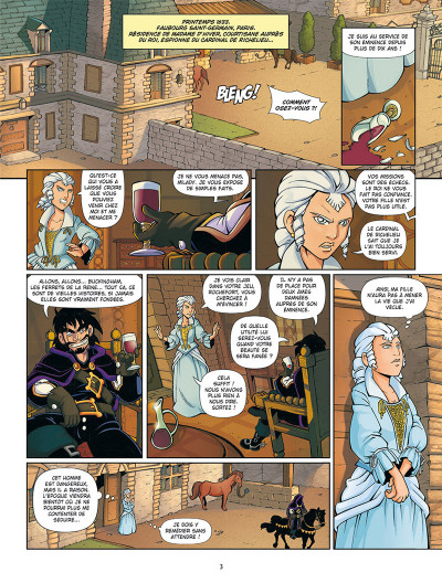 Page 1 Un pour tous ! tome 2
