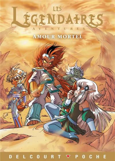 Couverture Les Légendaires aventures - Amour Mortel (roman jeunesse)