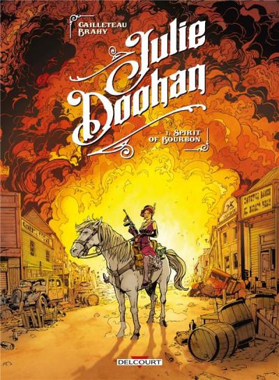 Couverture Julie Doohan tome 1
