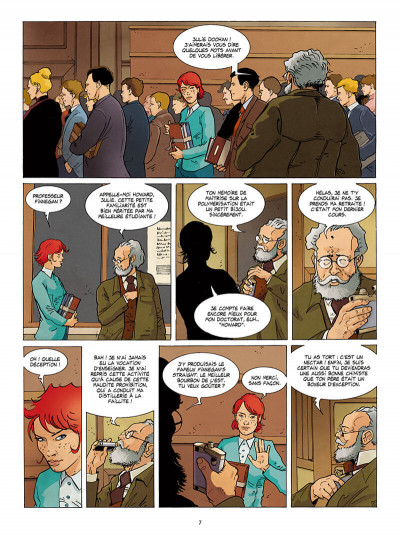 Page 7 Julie Doohan tome 1