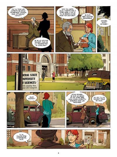 Page 8 Julie Doohan tome 1
