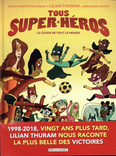 Couverture Tous super-héros tome 2