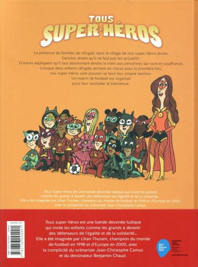 Dos Tous super-héros tome 2