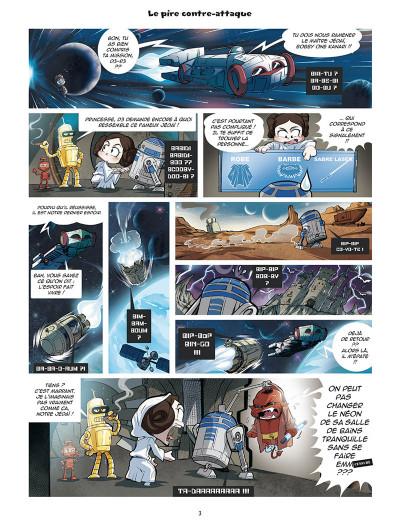 Page 1 Les légendaires - parodia tome 3