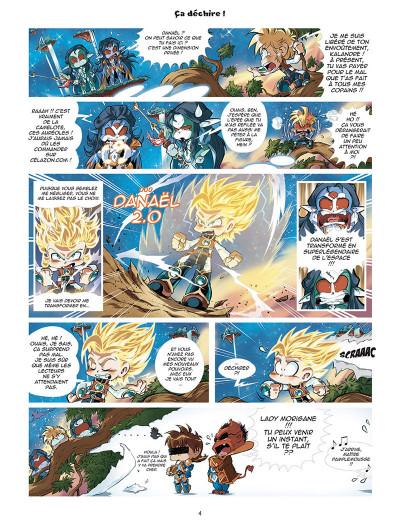 Page 2 Les légendaires - parodia tome 3
