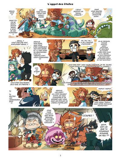 Page 3 Les légendaires - parodia tome 3