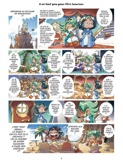 Page 4 Les légendaires - parodia tome 3