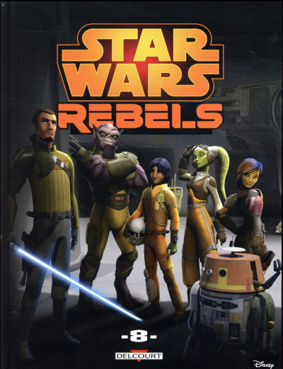Couverture Star Wars - rebels tome 8