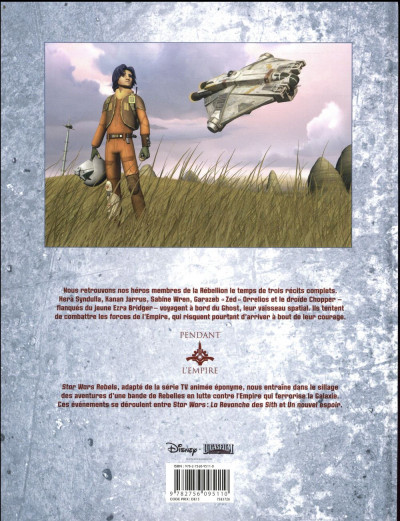 Dos Star Wars - rebels tome 8