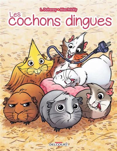 Couverture Les cochons dingues tome 1