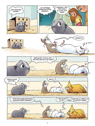 Page 3 Les cochons dingues tome 1