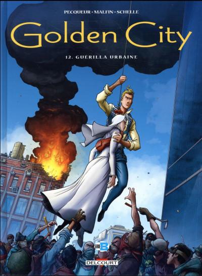 Couverture Golden city tome 12