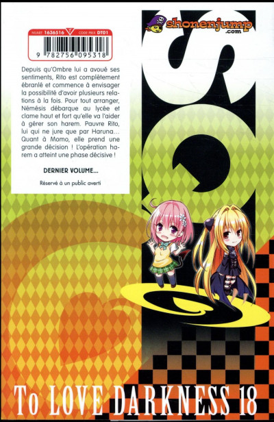 Dos To love darkness tome 18