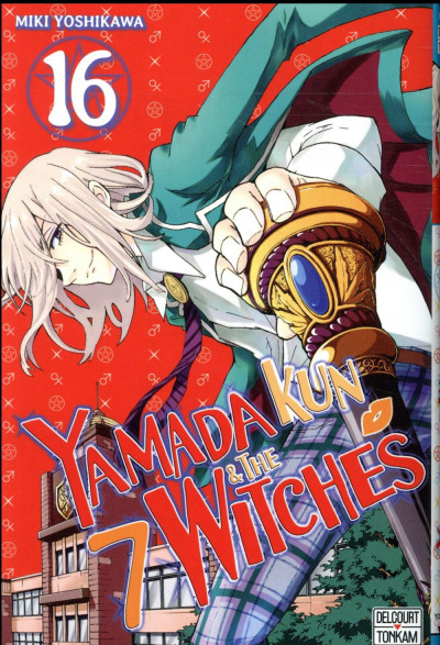 Couverture Yamada Kun & the 7 witches tome 16