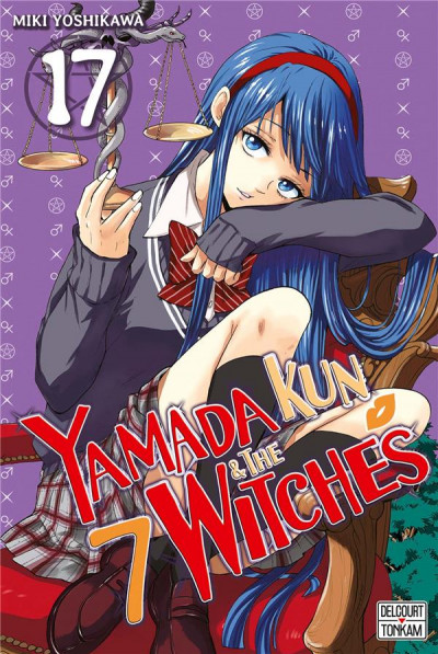 Couverture Yamada Kun & the 7 witches tome 17