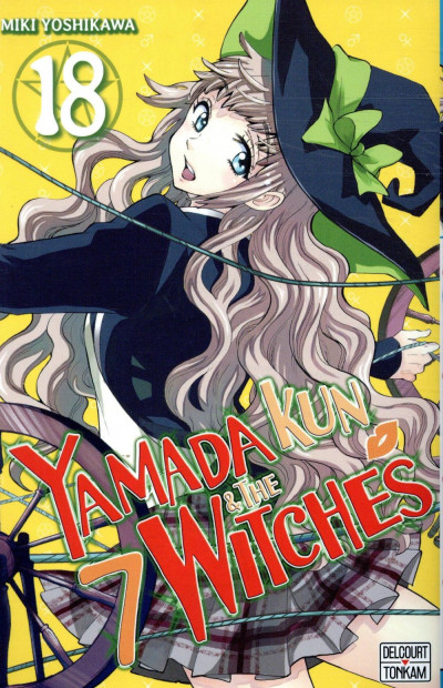 Couverture Yamada kun & the 7 witches tome 18