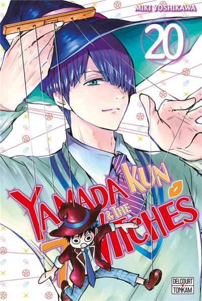 Couverture Yamada kun & the 7 witches tome 20