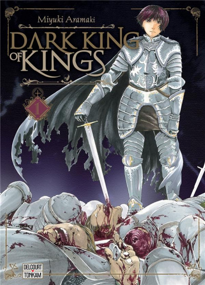 Couverture Dark king of kings tome 1