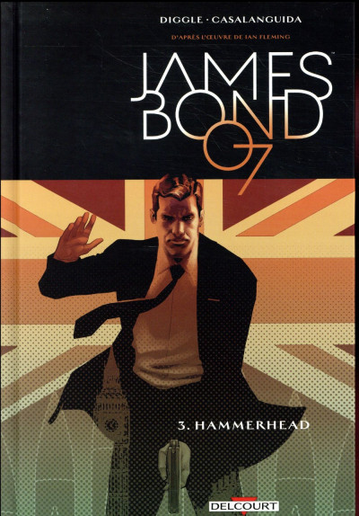 Couverture James Bond tome 3