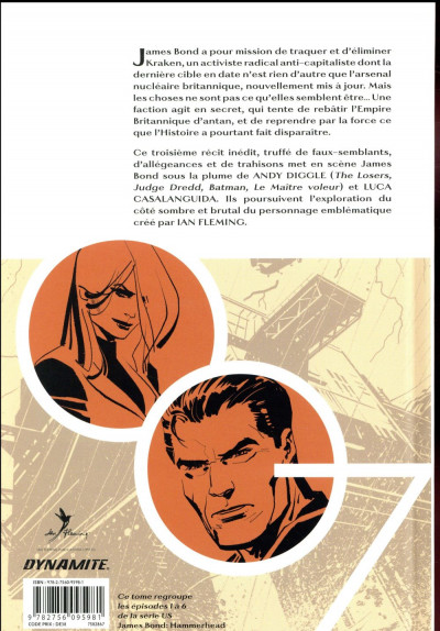 Dos James Bond tome 3