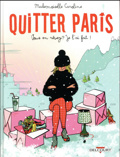 Couverture Quitter Paris