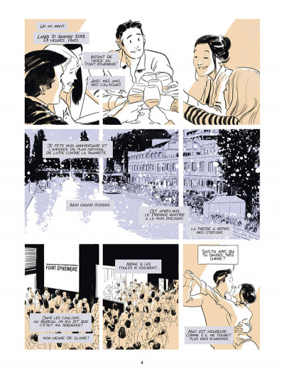 Page 3 Désintégration - journal d'un conseiller à Matignon