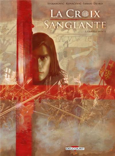 Couverture La croix sanglante tome 1 + ex-libris offert