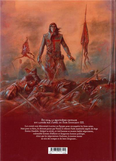 Dos La croix sanglante tome 1 + ex-libris offert