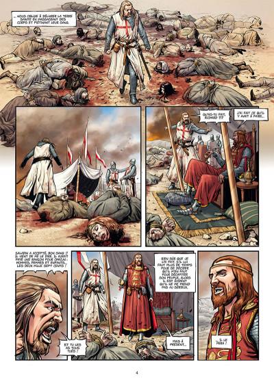 Page 2 La croix sanglante tome 1 + ex-libris offert