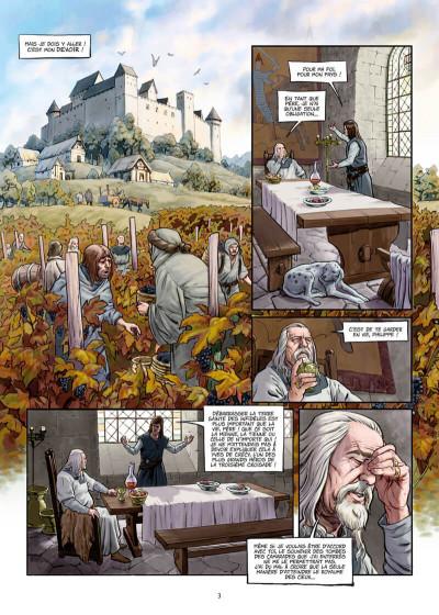 Page 3 La croix sanglante tome 1 + ex-libris offert