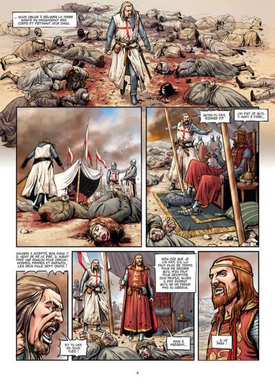 Page 4 La croix sanglante tome 1 + ex-libris offert