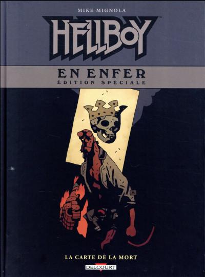 Couverture Hellboy en enfer - édition spéciale (n&b) tome 2