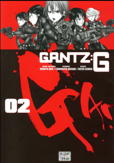 Couverture Gantz G tome 2