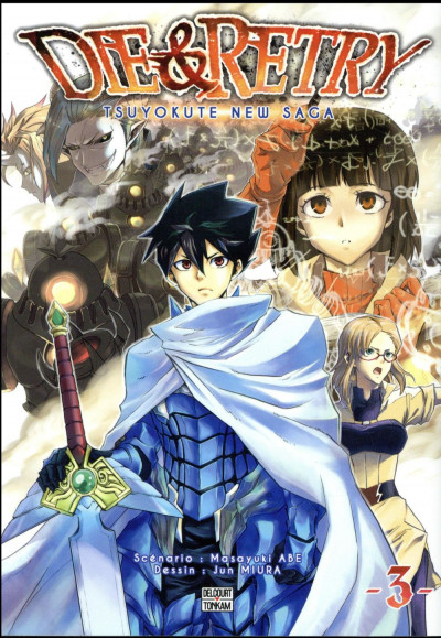 Couverture Die & retry tome 3