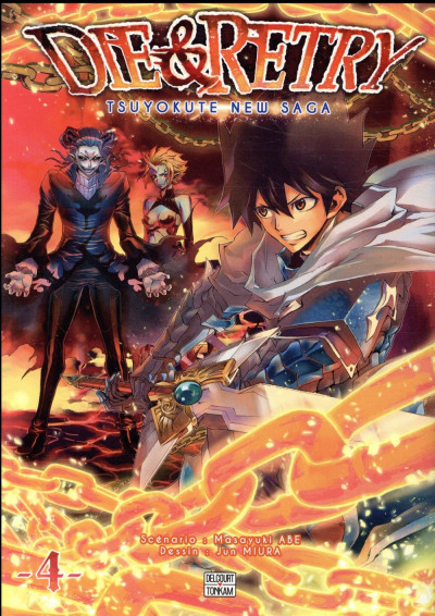 Couverture Die & retry tome 4