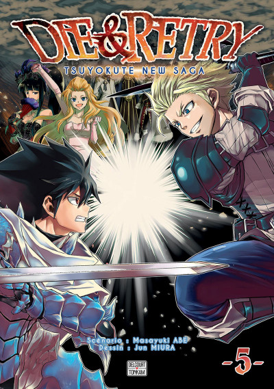 Couverture Die & retry tome 5