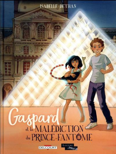 Couverture Gaspard et la malédiction du prince-fantôme