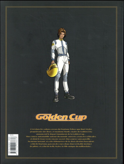 Dos Golden cup - intégrale tomes 4 à 6