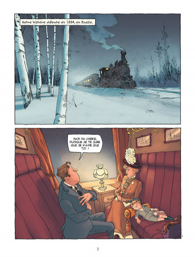 Page 1 Sacha Guitry - Une vie en BD