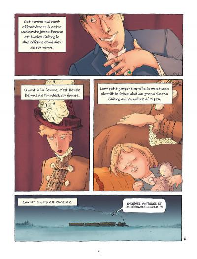 Page 2 Sacha Guitry - Une vie en BD