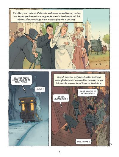 Page 3 Sacha Guitry - Une vie en BD