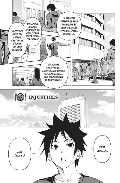 Page 6 Food wars ! tome 21