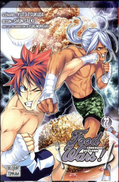 Couverture Food wars ! tome 22