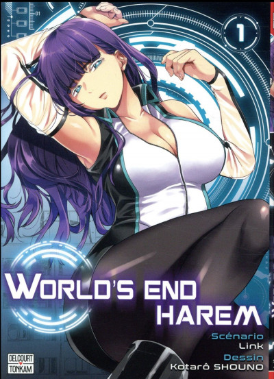 Couverture World's end harem tome 1