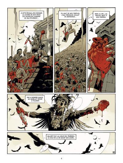 Page 2 Serpent et la lance tome 1