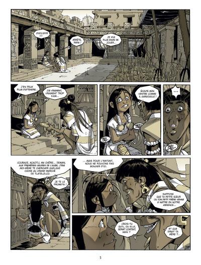 Page 3 Serpent et la lance tome 1