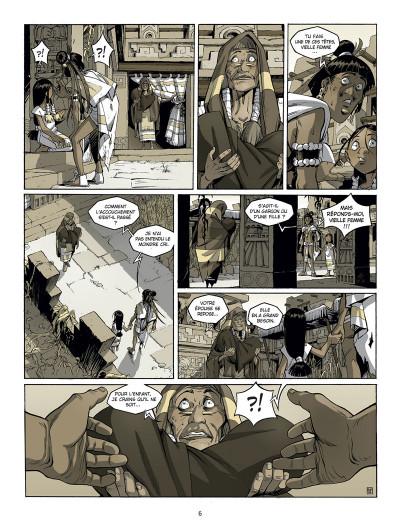 Page 4 Serpent et la lance tome 1